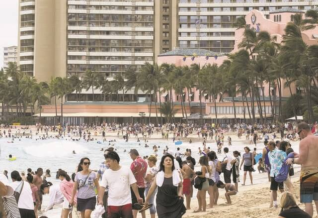 Hawaii Tourism: Visitors spent $1.33 billion in Hawaii in November 2019