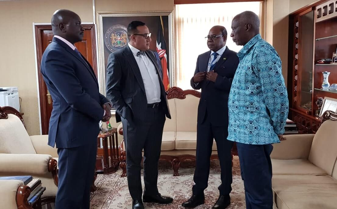 , Minister Bartlett to conclude discussions for establishment of first Satellite Center in Kenya, For Immediate Release | Official News Wire for the Travel Industry, For Immediate Release | Official News Wire for the Travel Industry