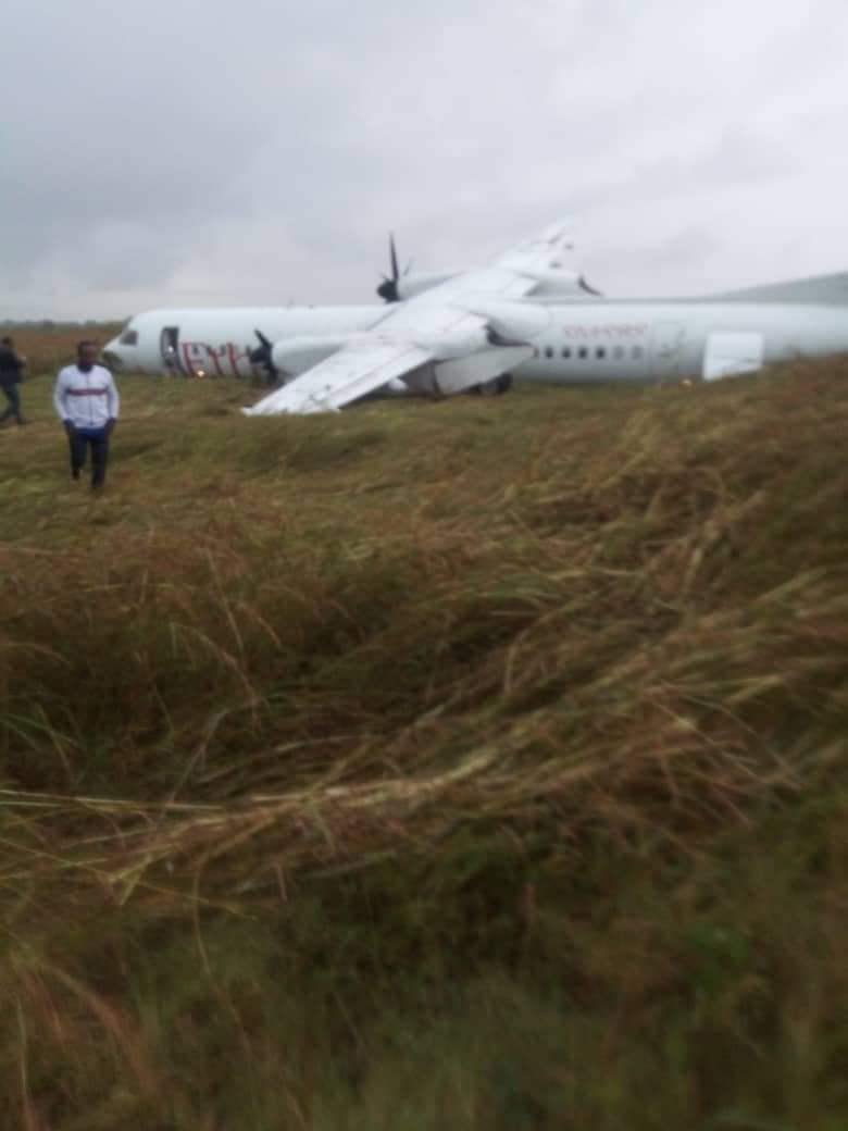 エチオピア航空が墜落し、負傷者は報告されていません