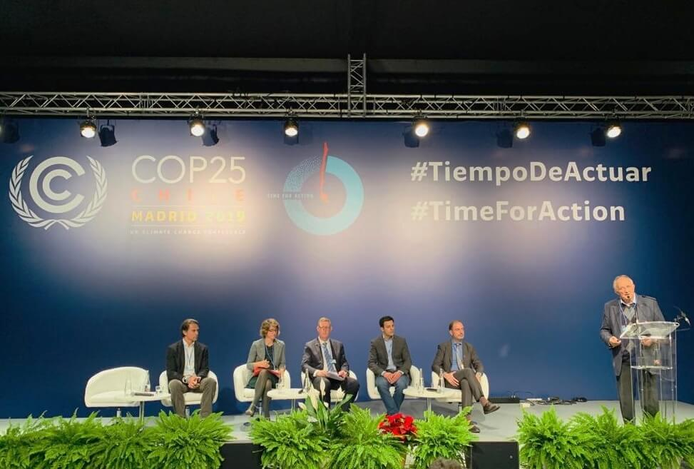 Championing climate friendly travel at COP25