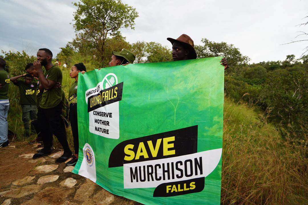 Protests at Association of Uganda Tour Operators about Dam at Murchison Falls