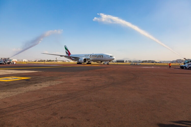 How to fly in style from Dubai to Mexico City?