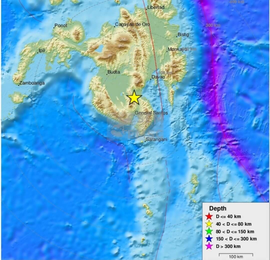 Philippine Tourist Island Mindanao rocked by strong earthquake