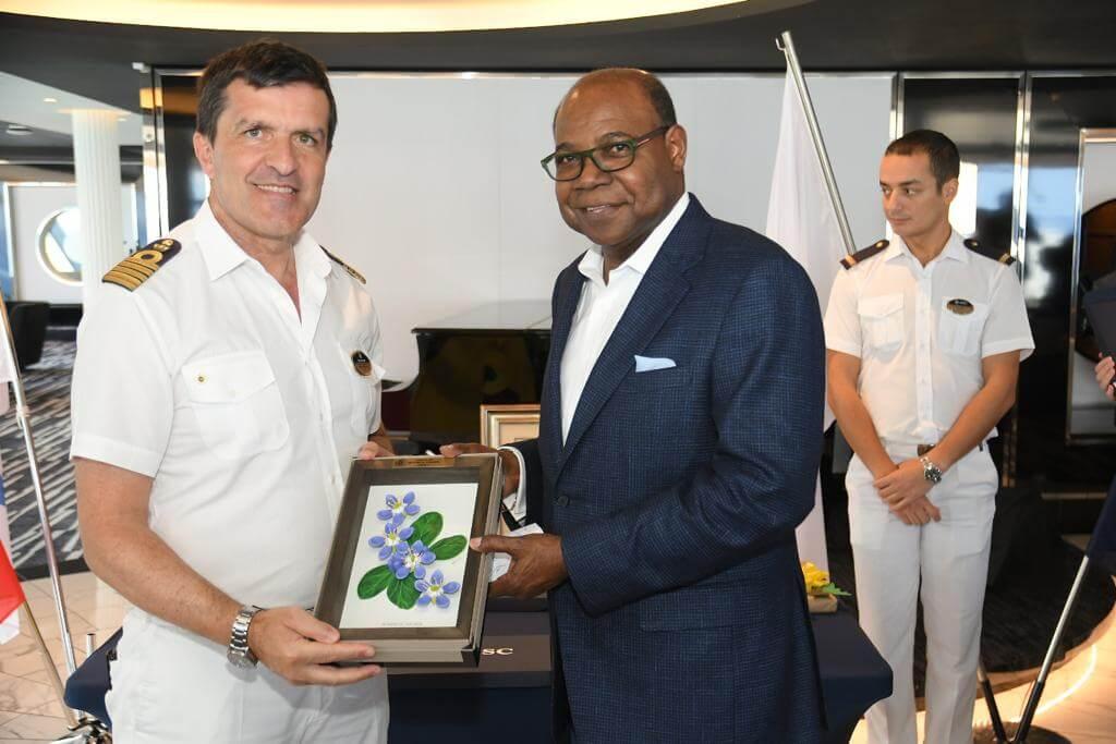 MSC Meraviglia to bring 50,000 cruise passengers to Ocho Rios