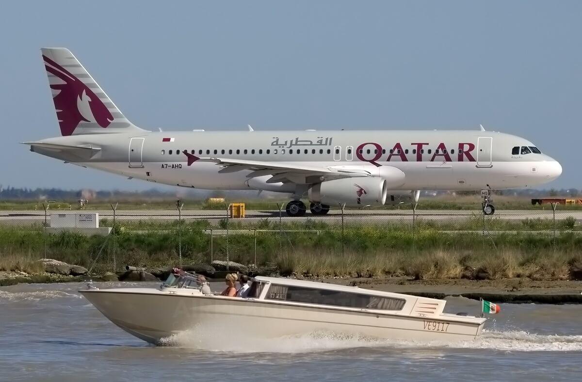 New planes, more flights: Qatar Airways invests in Venice