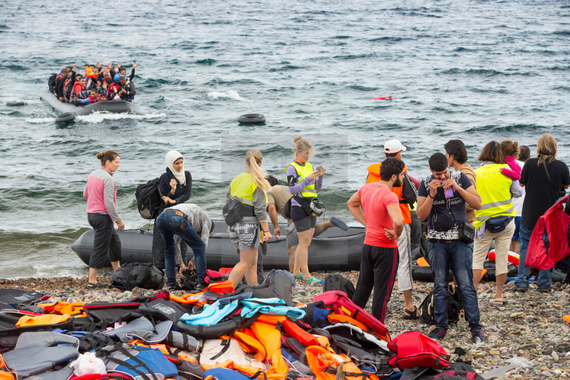 Greece hopes 'floating barrier' will stop migrant invasion
