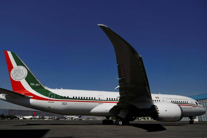 Mexico to raffle presidential Boeing 787 Dreamliner for $27