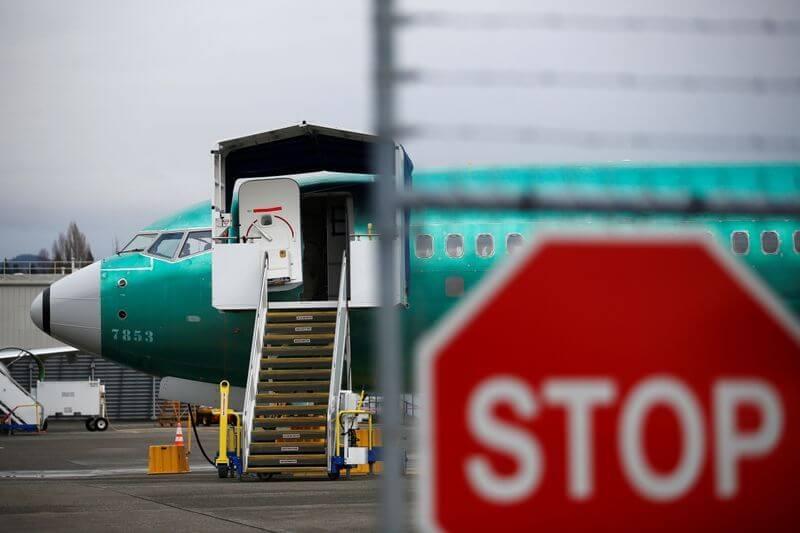 737 MAX production halt sends Boeing stock into nosedive