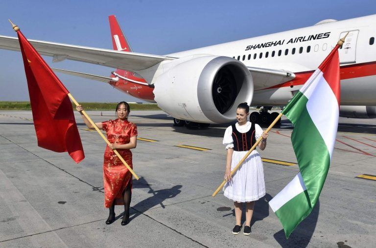 Shanghai Airlines launches daily flights from Budapest to Shanghai