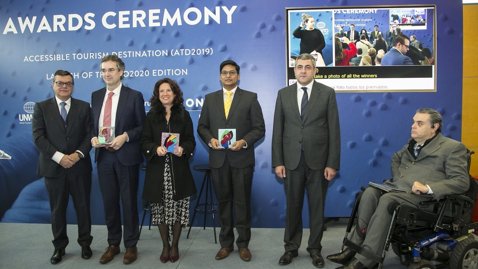 UNWTO recognizes 'Accessible Tourist Destinations' at FITUR
