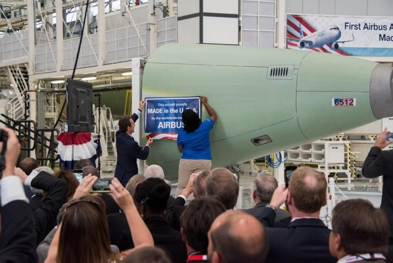 Airbus to manufacture more planes in the US