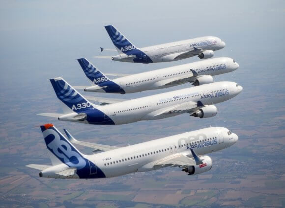 Airbus: 863 commercial aircraft delivered to 99 customers in 2019