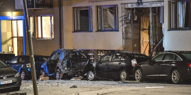 Sweden's bombing wave continues with explosions in Stockholm and Uppsala