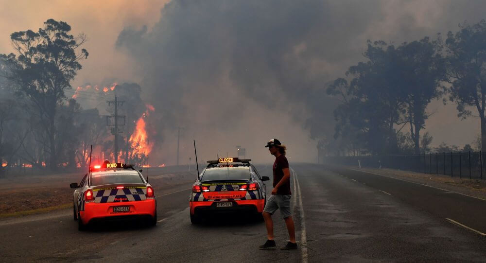 Australia deploys military aircraft & navy ships to help fire-ravaged communities