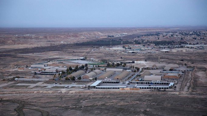 War! US Base under attack in Iraq