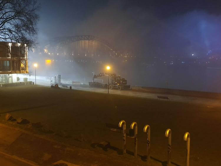 War between Germany and Britain ? Cologne is being evacuated this morning