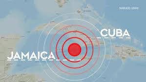 Massive 7.7 earthquake strikes off the coast of Cuba