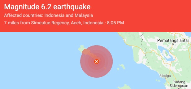 Indonesia is getting struck by strong Earthquakes