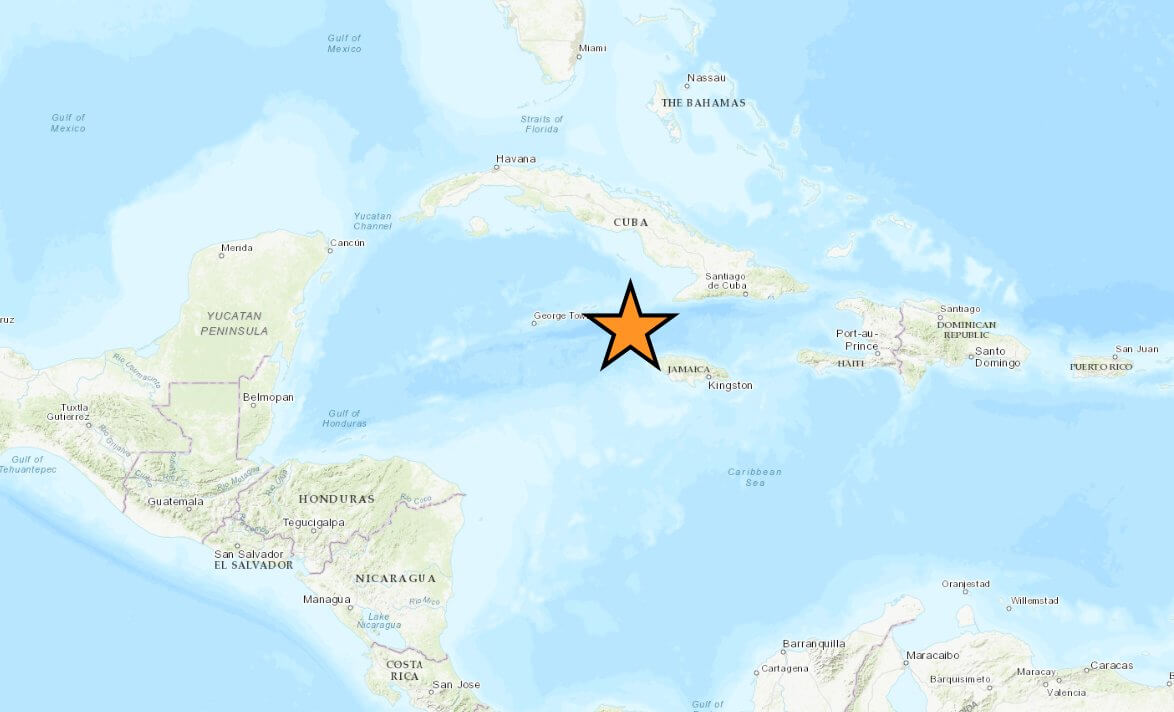 What is the situation in Jamaica after the earthquake?