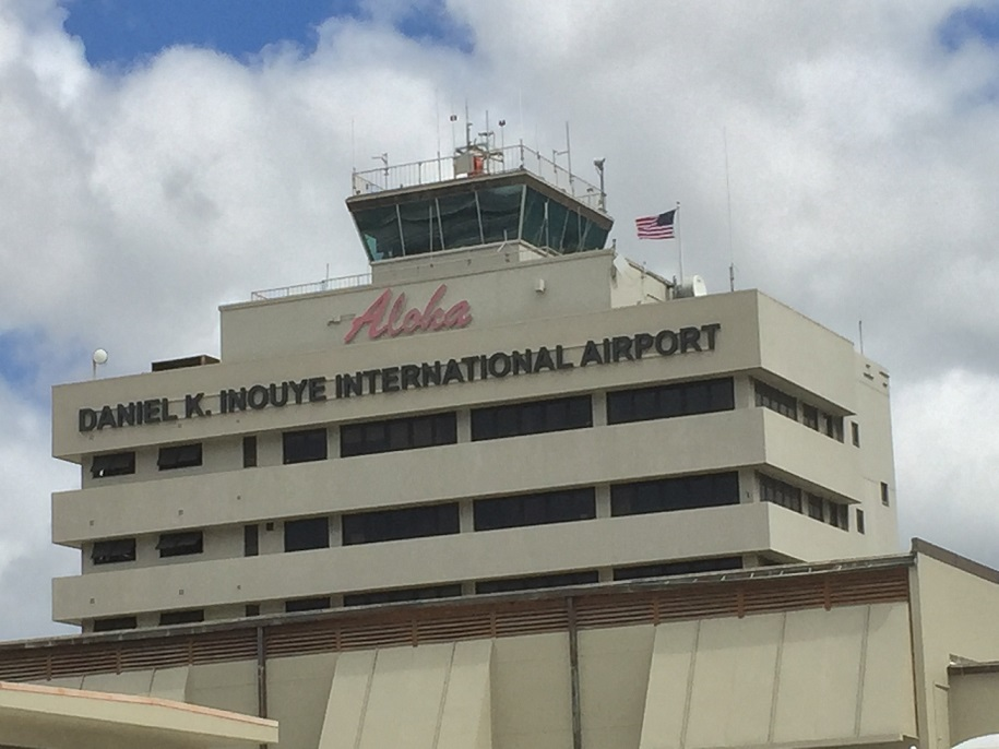 Union Workers Rally at Honolulu Airport in Hawaii