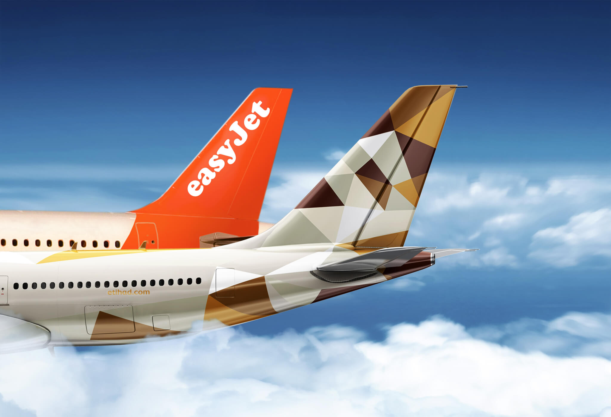 How a full service airline partner with a budget carrier?