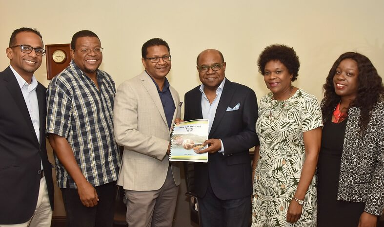 Tourism Demand Study shows need for J$391.6 Billion in Agricultural and Manufacturing Goods, says Bartlett