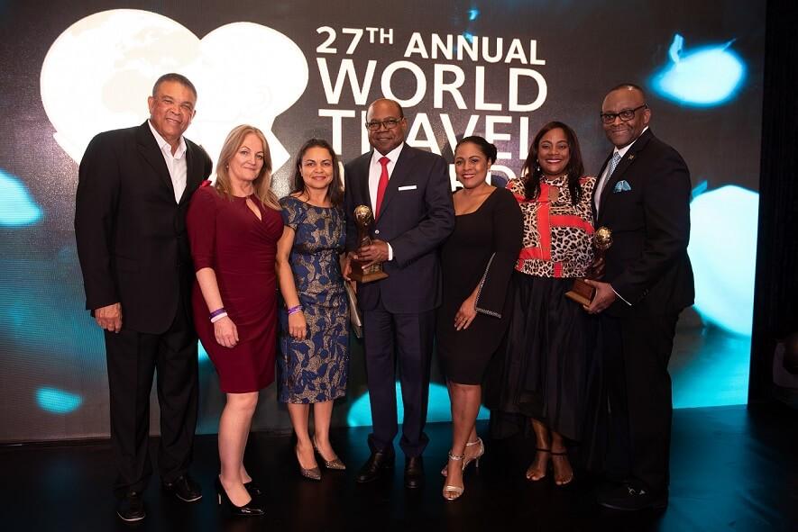 Jamaica Wins Big at World Travel Awards' Caribbean Gala