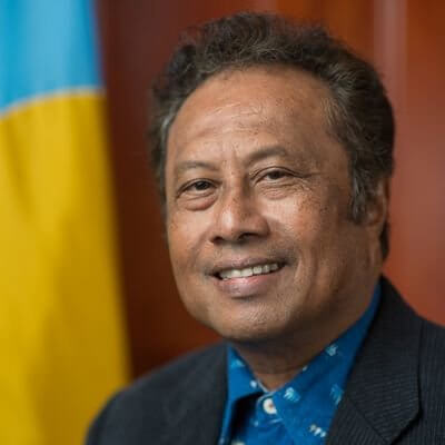 How Palau became the first tourism leader in 2020?