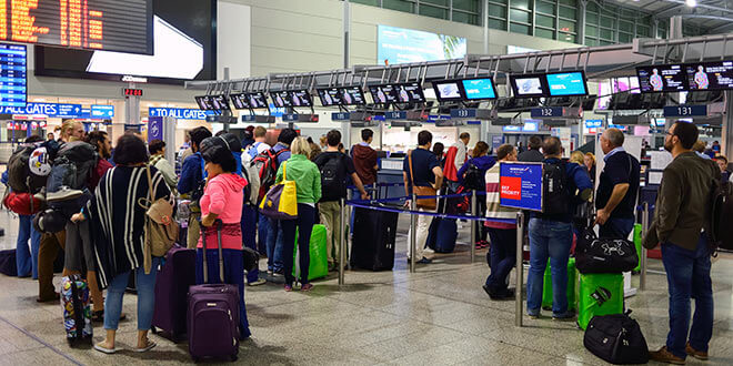 Václav Havel Airport Prague announces changes of check-in procedure