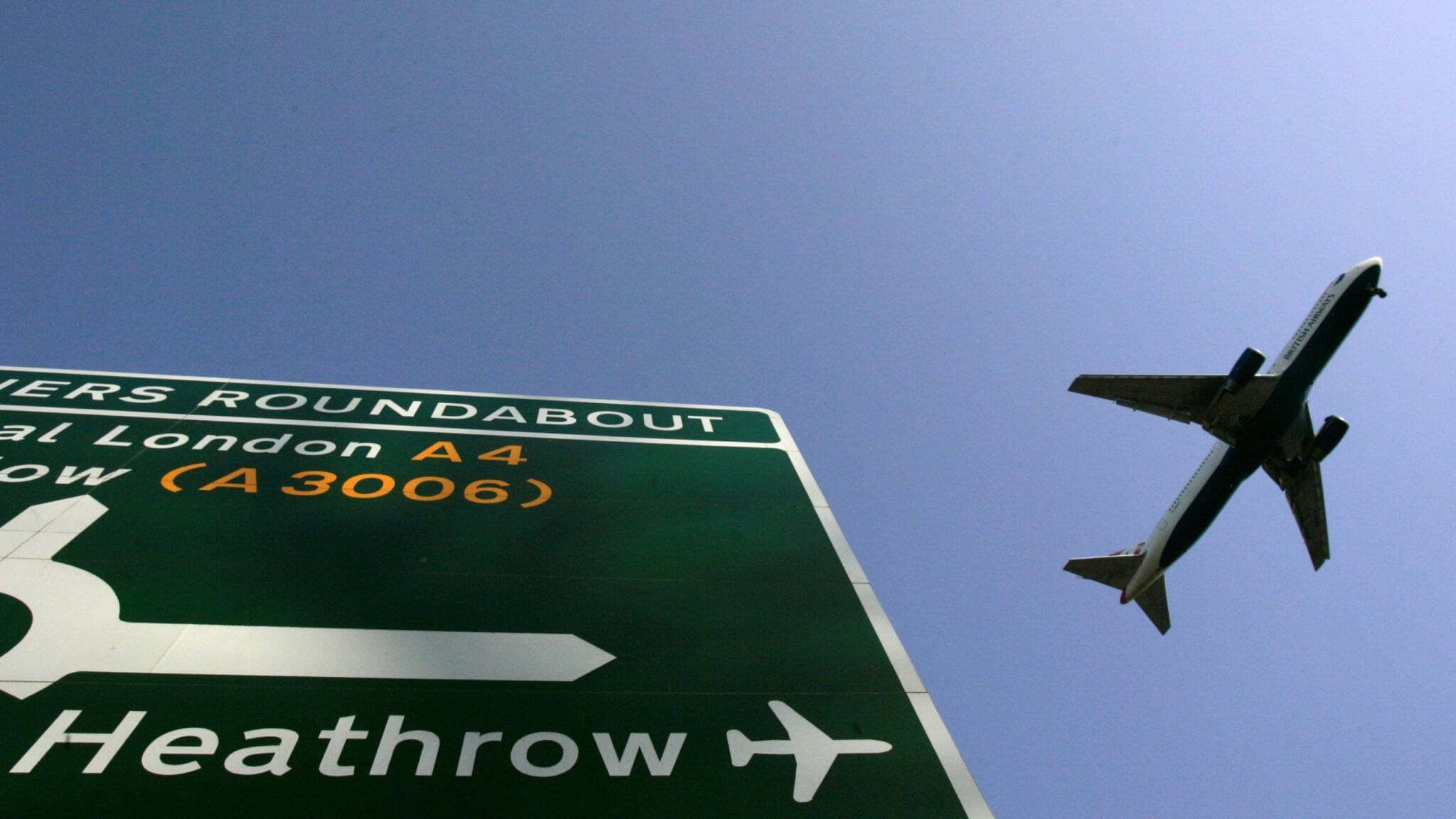 Heathrow targets zero carbon airport by mid-2030s