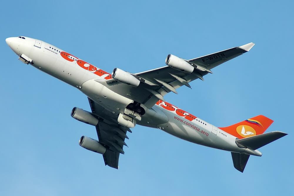 Venezuela's state-run airline Conviasa blacklisted by US