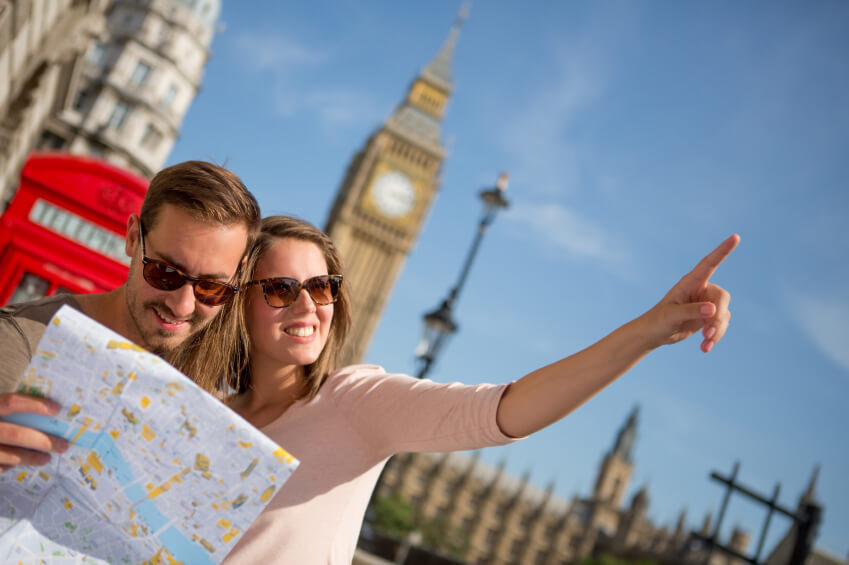 UK Tourism: Record visits and spending from the USA
