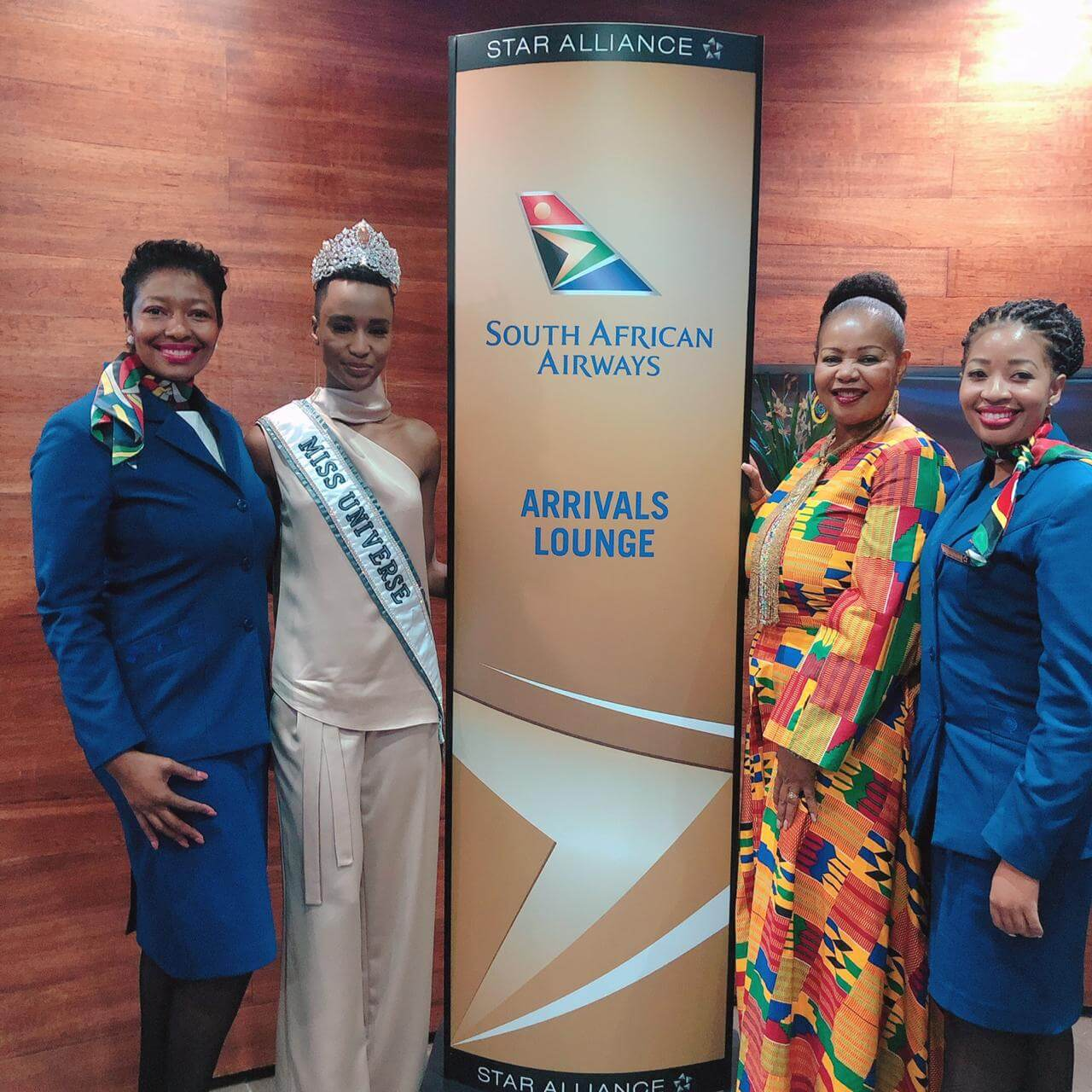 South African Airways flies Miss Universe back home aboard new Airbus A350-900