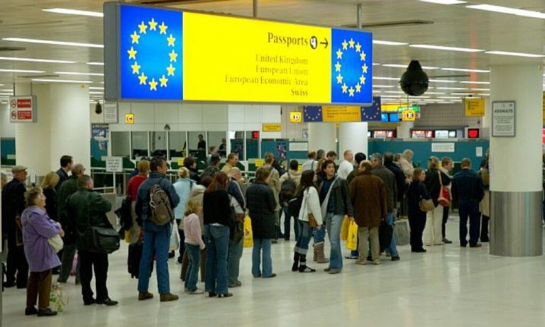 'Not the Brexit I voted for': Brexiteer whines about long EU passport line