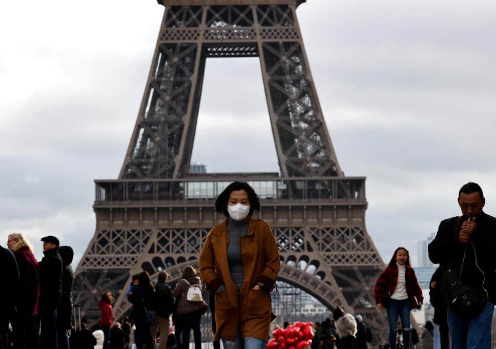 First coronavirus death in Europe: Chinese tourist dies in Paris hospital
