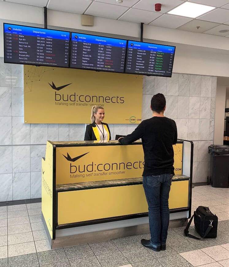 Budapest Airport's new partnership creates seamless self-connection