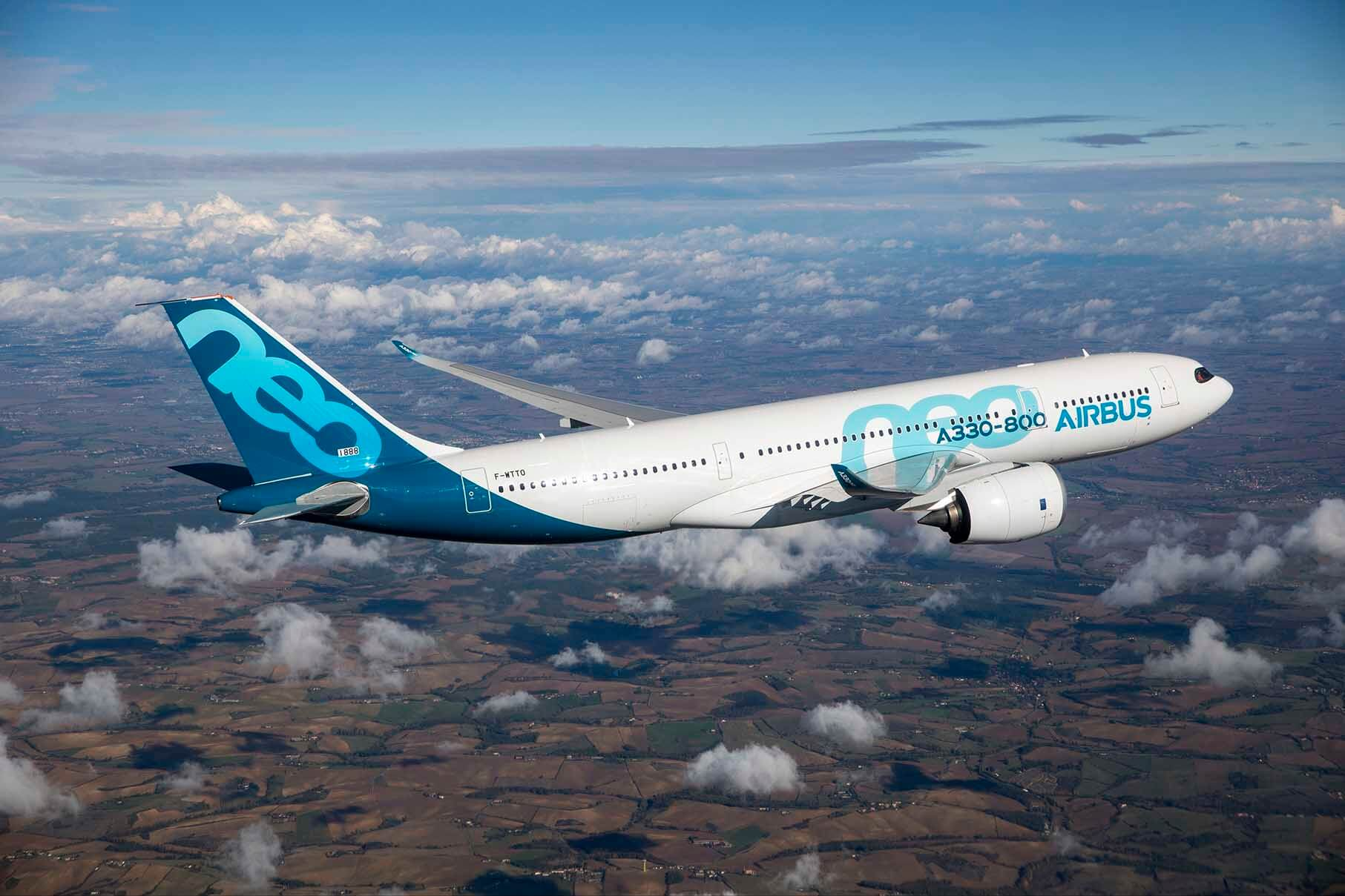 Airbus A330-800 receives EASA Type Certification