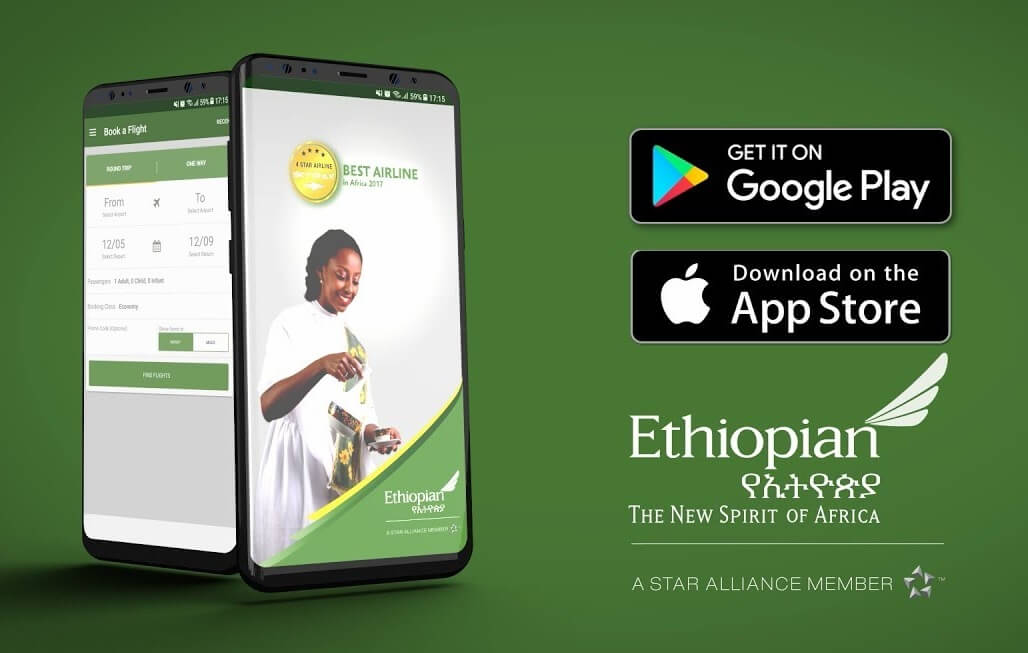 Ethiopian Mobile App big hit with flyers