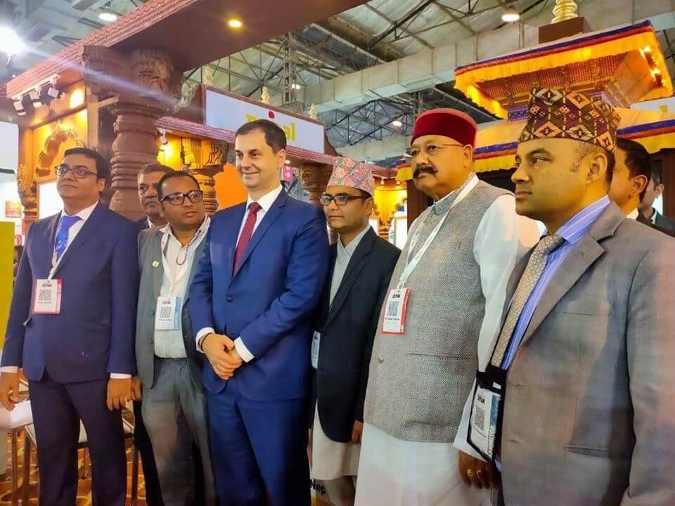 Nepal Awards: Best Stall Award at OTM Mumbai