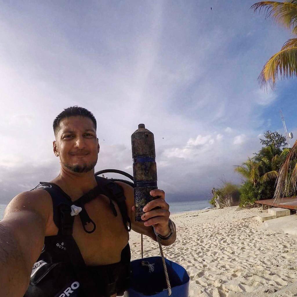 Seychelles Marine Scientist fascinating research