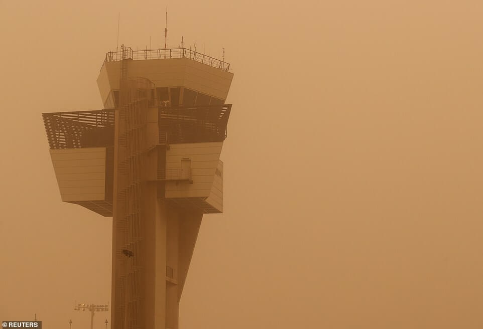 Canary Islands' airports reopen as wind and sandstorm ease