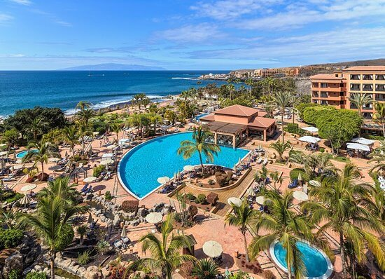 COVID 2019 locks down H10 Costa Adeje Palace Hotel in Tenerife