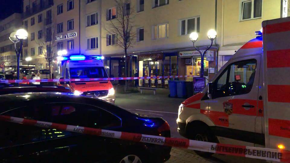 Mass shooting ongoing in Germany