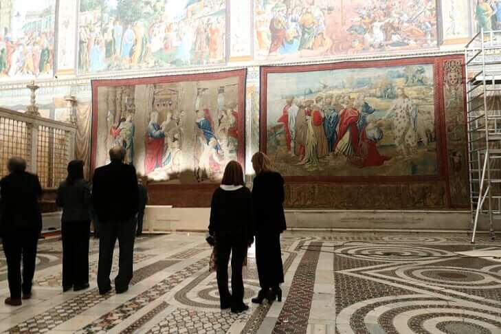 Sistine Chapel Event: Making a Better Tourism Attraction