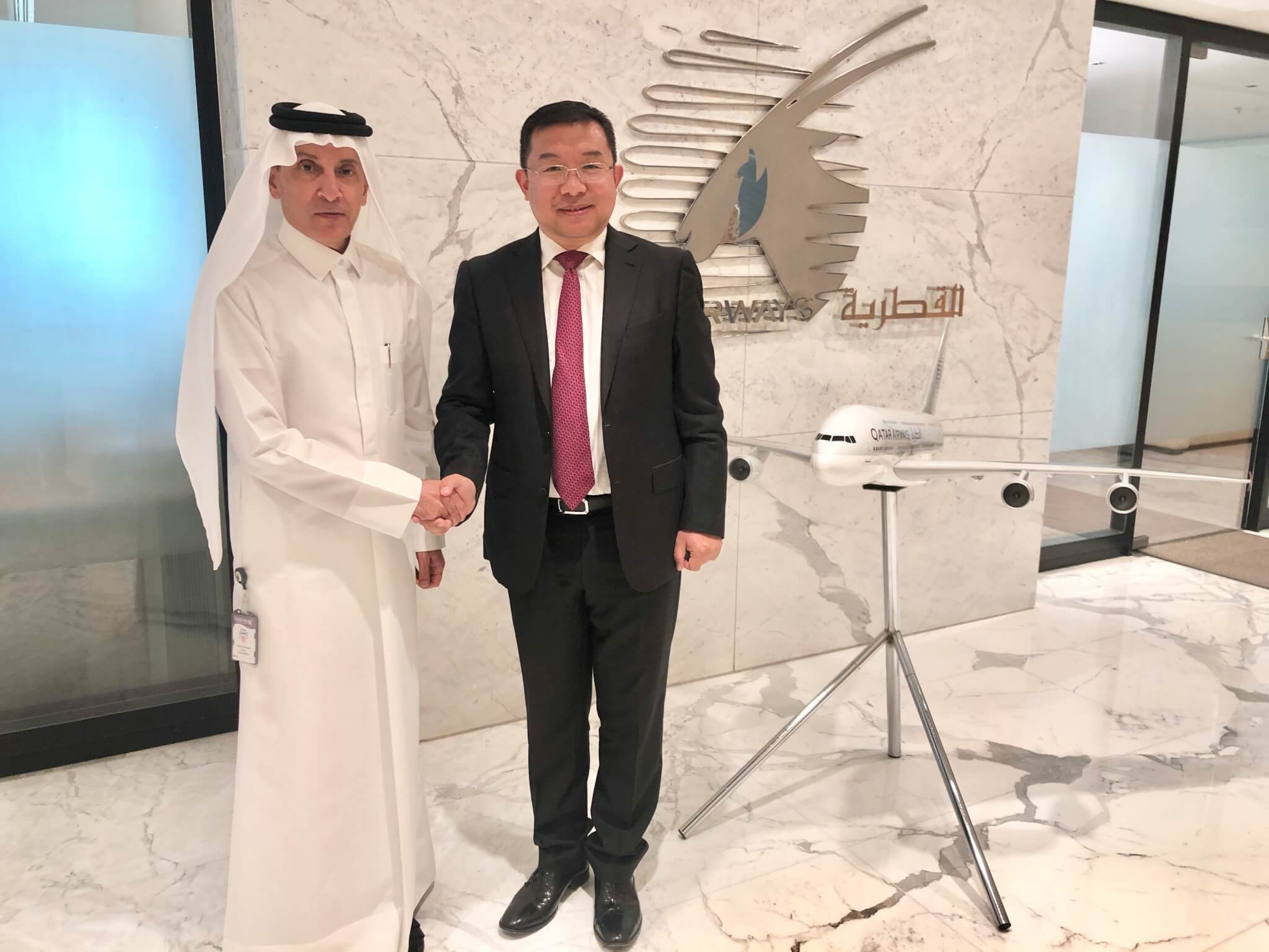 Qatar Airways to the Chinese rescue