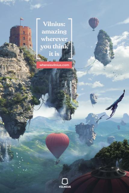 Go Vilnius new 'Fantasy' tourism campaign