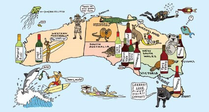 Delicious Wines in Australia