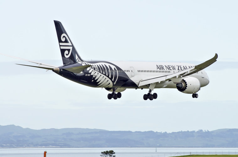 Air New Zealand reduces its international capacity by 95%