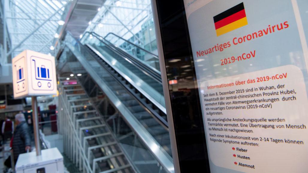Munich Airport in crisis mode