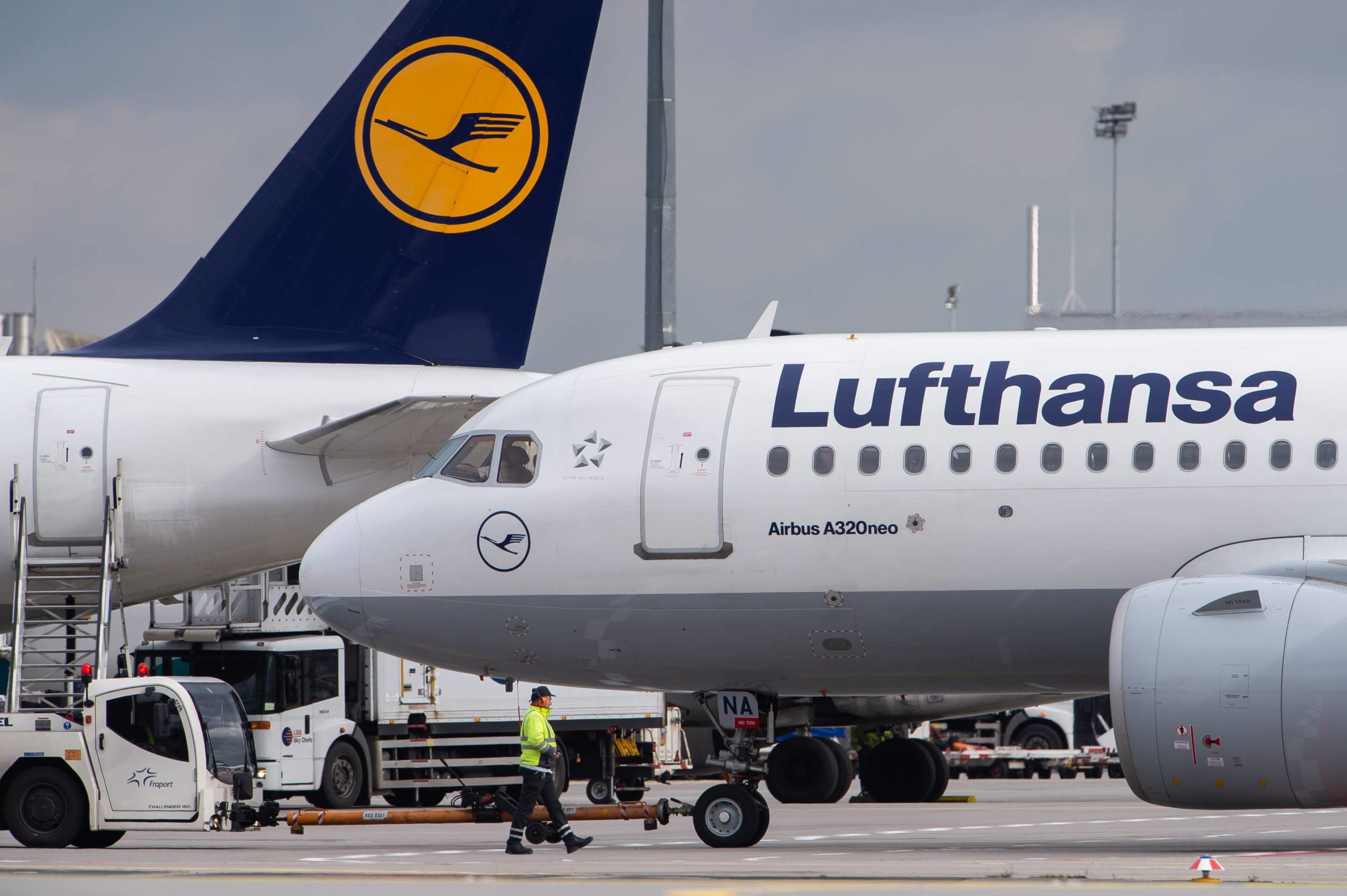 Lufthansa announces short-time work in Frankfurt and Munich airports